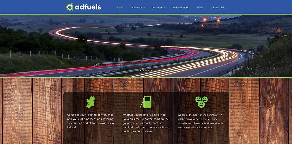 Adfuels website