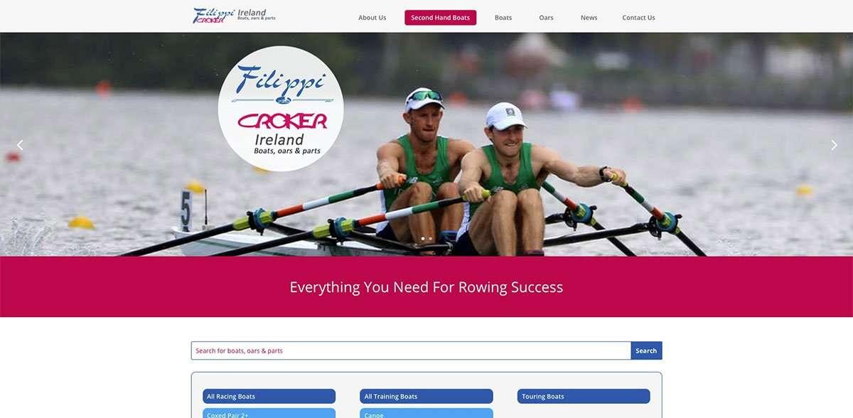 Filippi Croker Ireland website