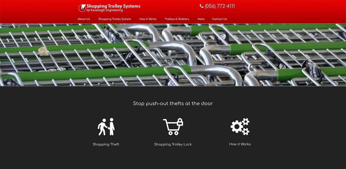 Shopping Trolley Systems website