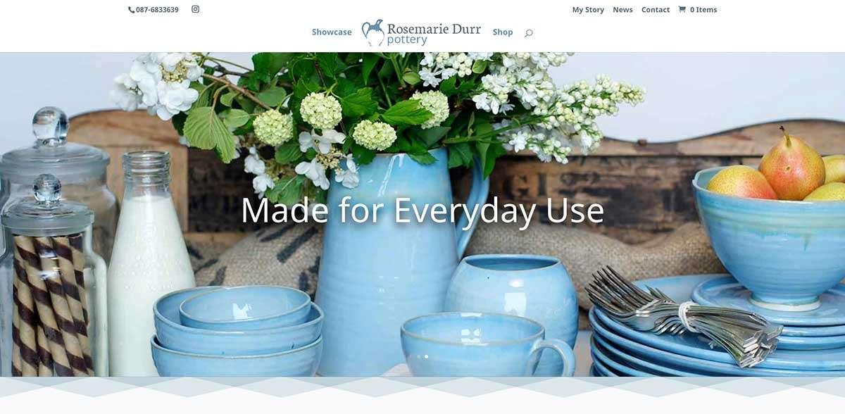 Rosmarie Durr top of website