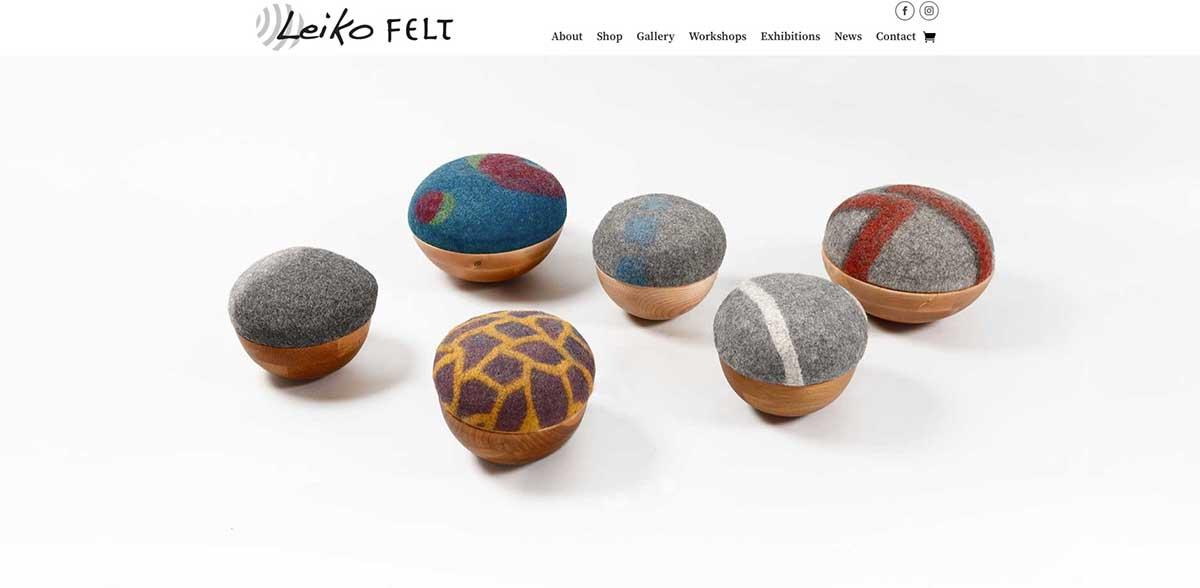 Leiko Felt website