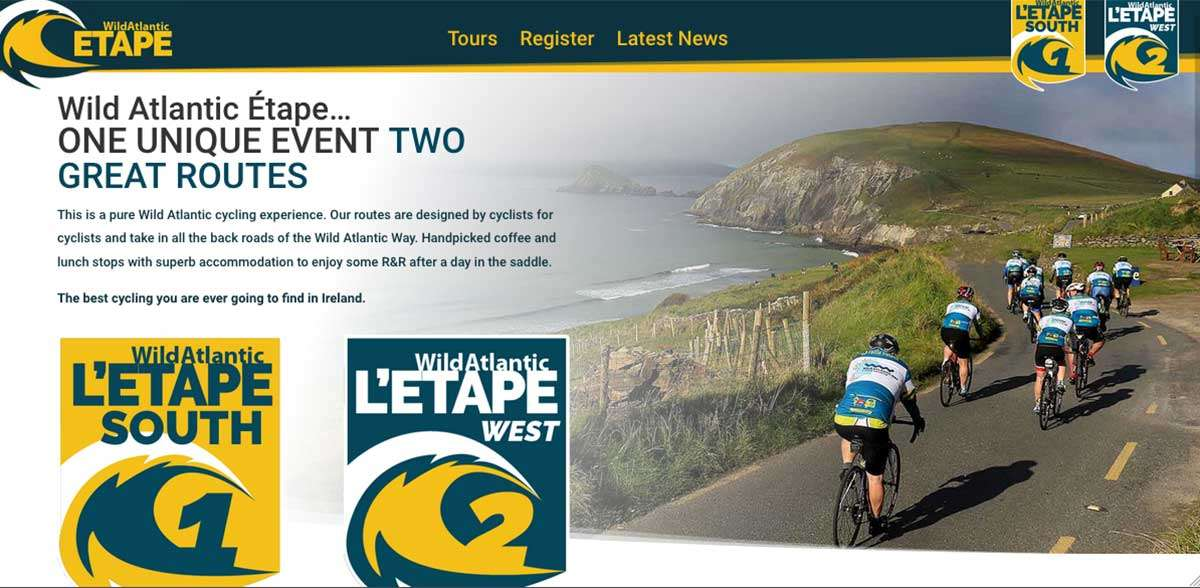 Wild Atlantic Étape website