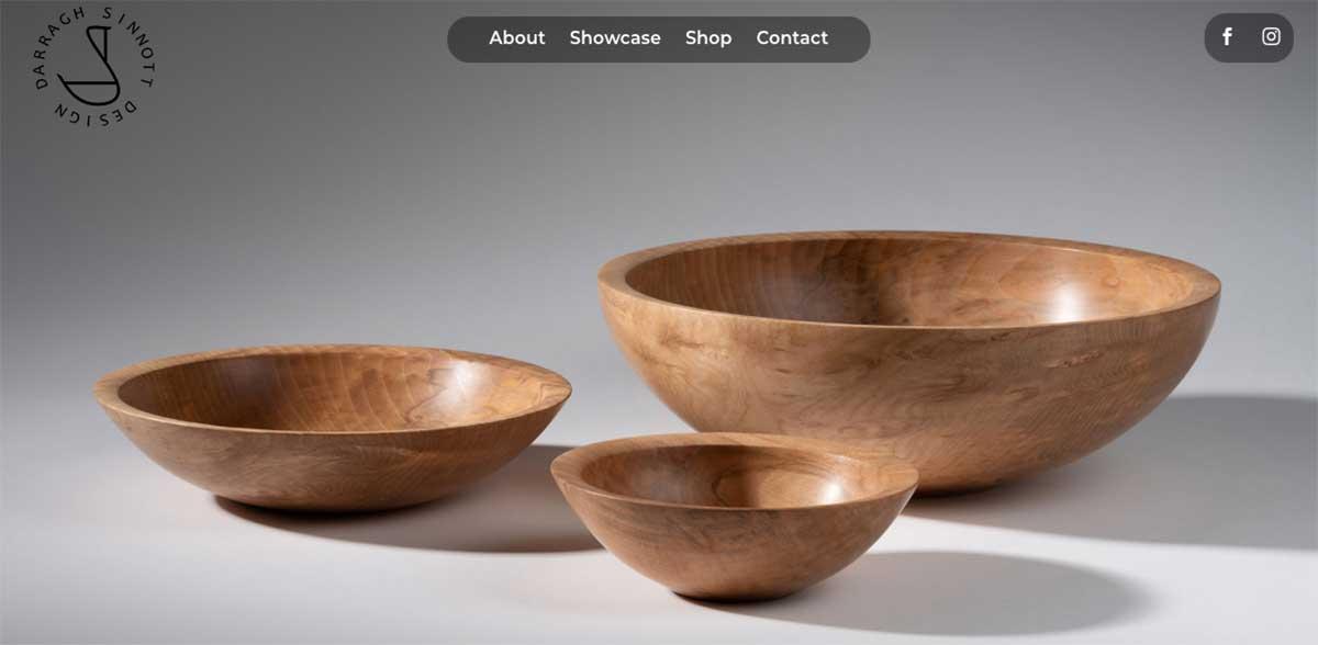 Darragh Sinnott Design website
